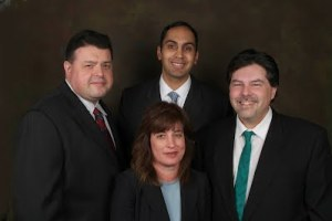 Next S.T.E.P. Candidates for the North Penn School District Board of Directors.  Clockwise left to right:  Alex Ryabin, Murali Balaji, Paul Edelman, and Tina Stoll